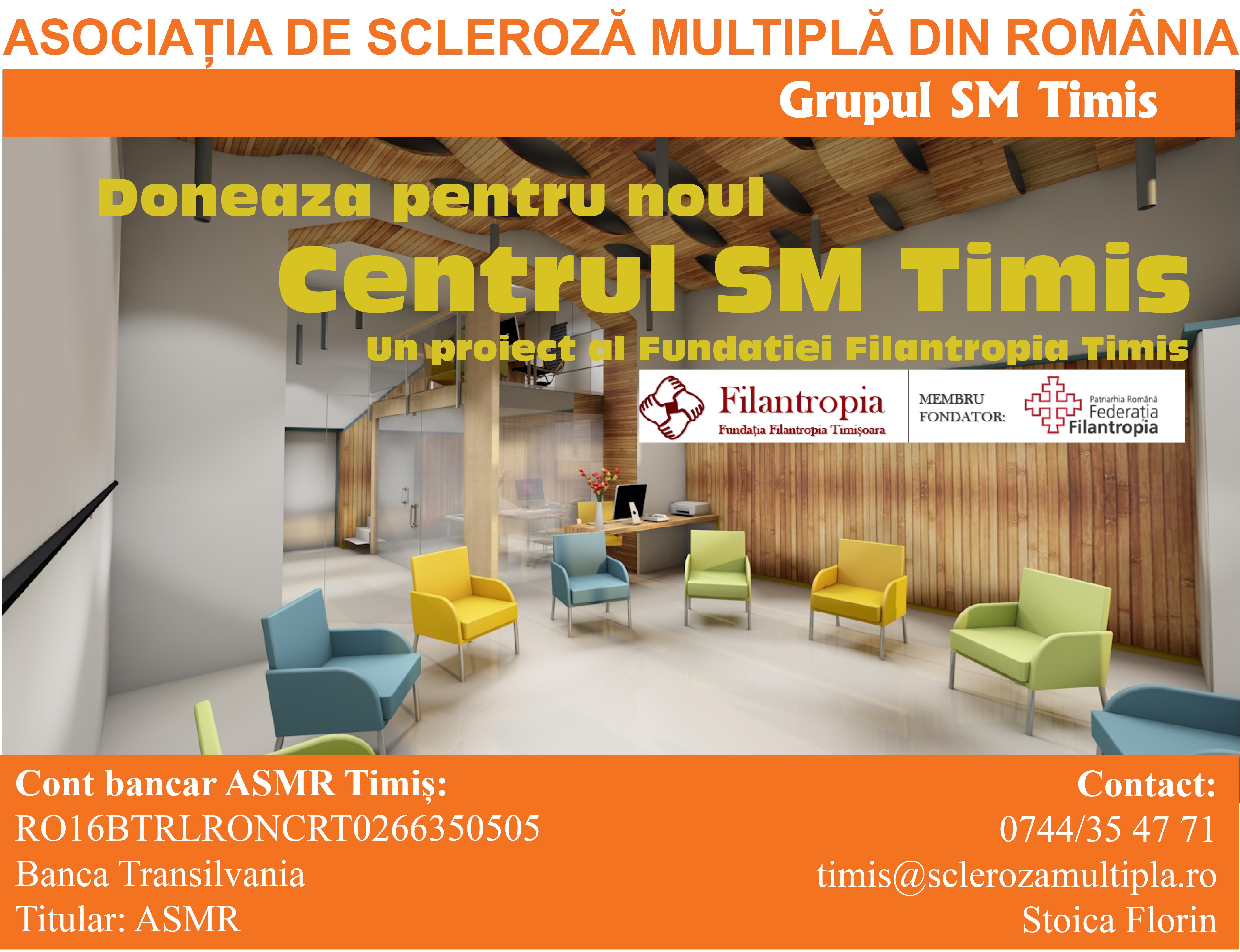Donează pentru noul Centru SM Timiș
