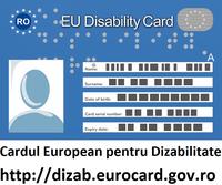 Cardul european pentru dizabilitate